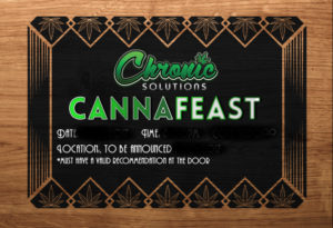 CannaFeast Event Tickets, Graphic Design for Print by Ignite Era